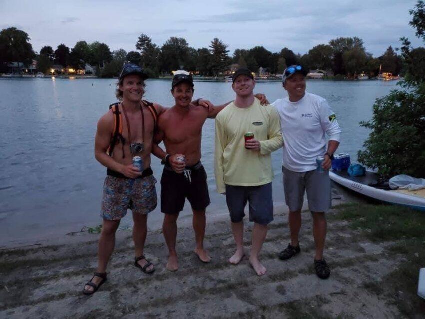 paddling group