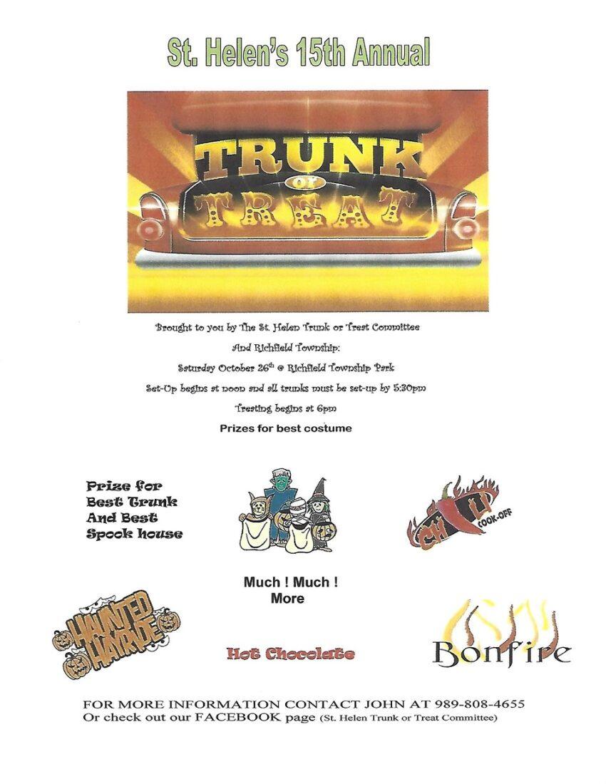 Trunk of Treat