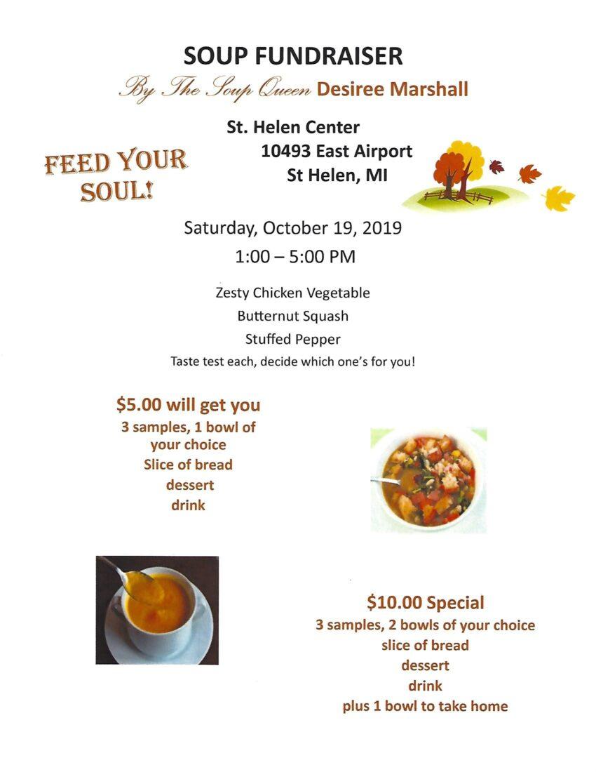 soup fundraiser