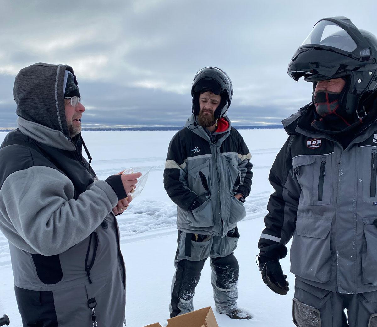 ice fishing school
