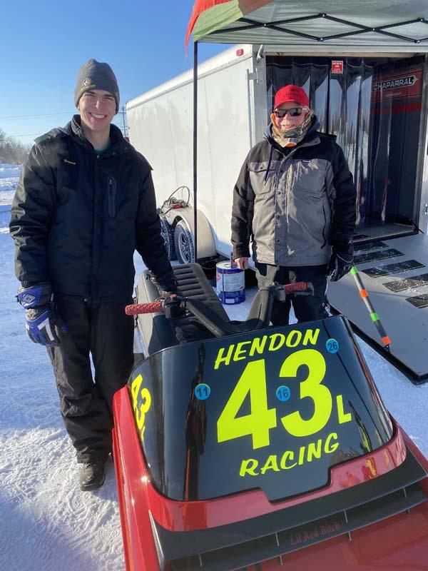 snowmobile race