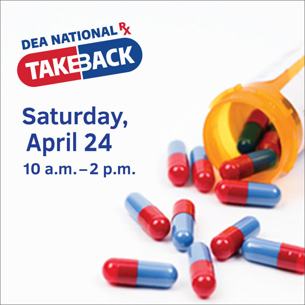 DEA National Takeback Day