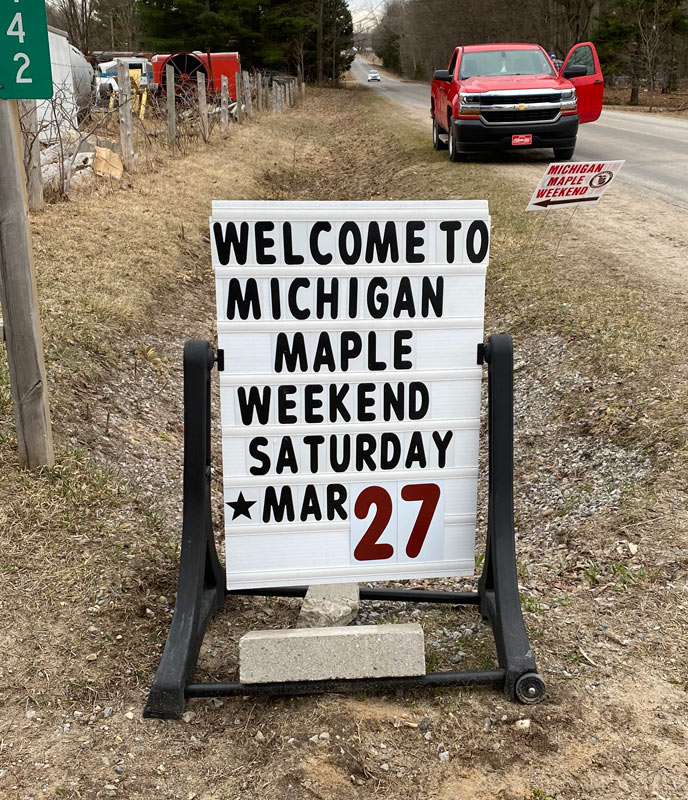 Michigan maple weekend