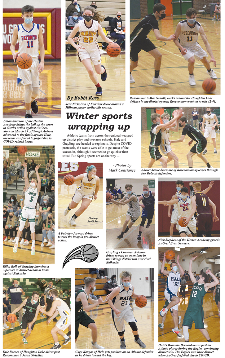 winter sports collage