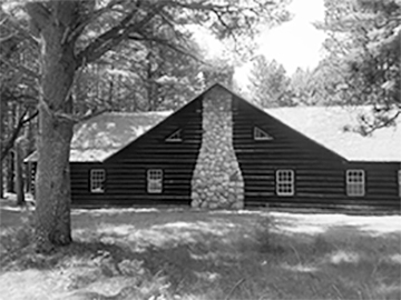 Hartwick pines visitor center