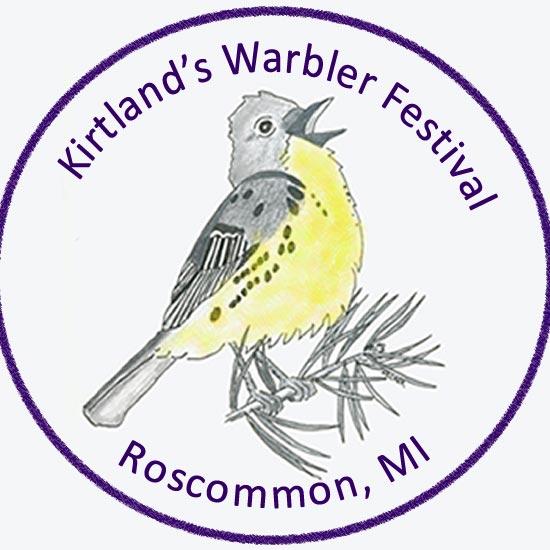 Kirtland's Warbler Festival logo