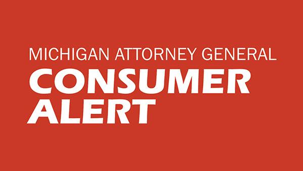 MI Consumer Alert