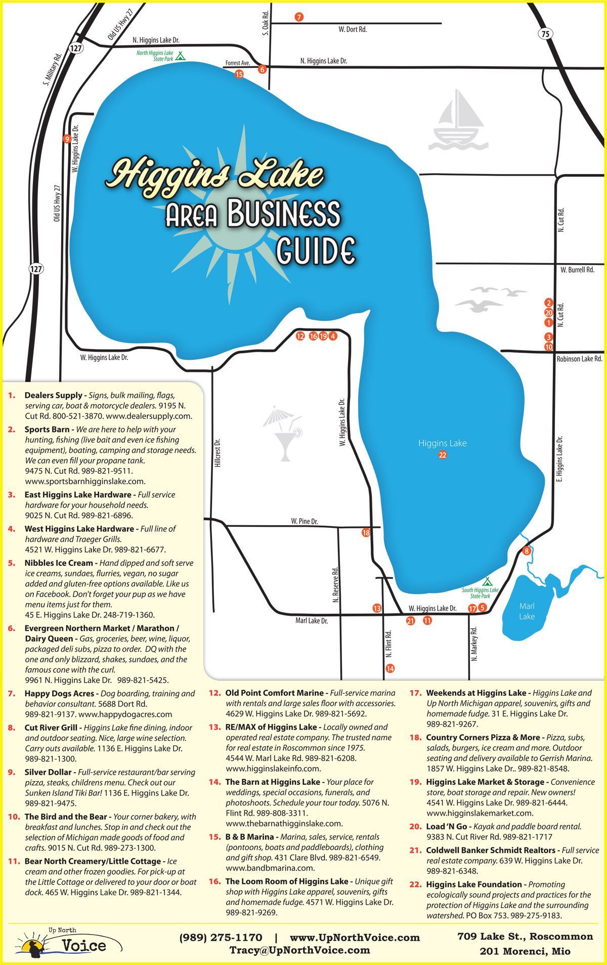 Higgins Lake Area Business Guide