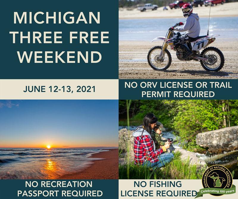 Three Free Weekend