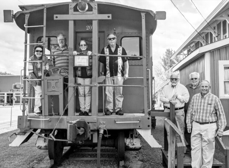 Crawford history on the rails